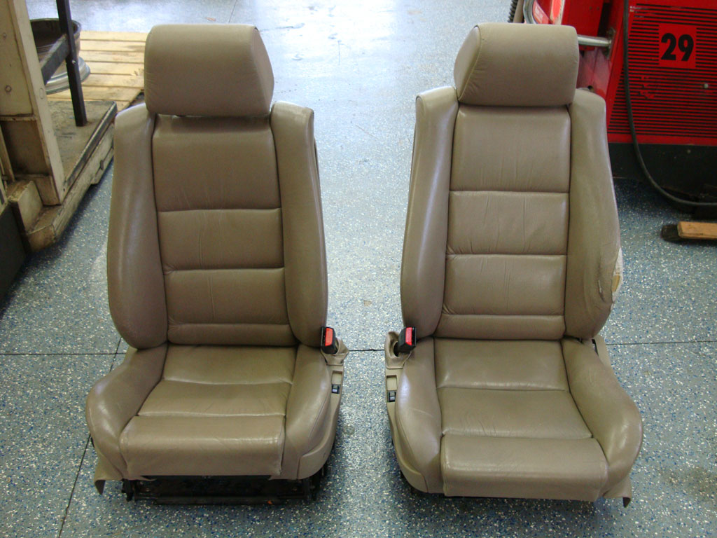 e34 fs front m5 m sport sport seats parchment heated. Black Bedroom Furniture Sets. Home Design Ideas