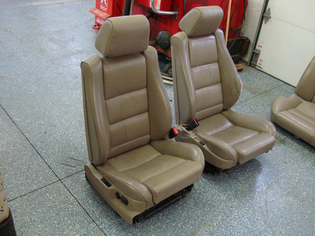 E34 Fs Front M5 M Sport Sport Seats Parchment Heated
